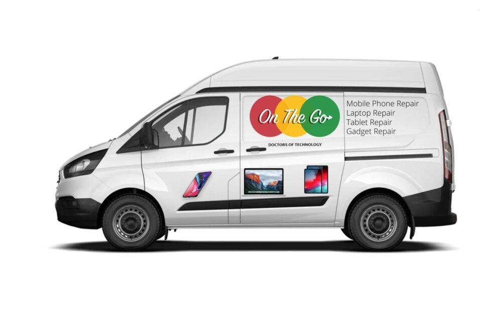 Mobile phone van service
